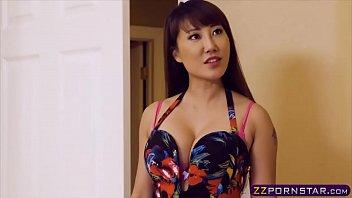 Hot asian chick got r. on her girlfriend via fucking