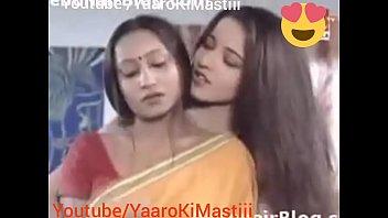 Indian Monalisha and Bhabhi Lesbian  sex