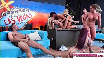 Big Long Hard Cock To Be Ride By Horny Pornstar Girl (Brandi Love & Marsha May & Monique Ale