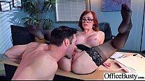 Sex Action In Office With Big Round Tits Slut Girl (Dani Jensen) vid-29