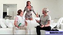 Hard Style Sex Action On Cam Wtih Slut Busty Wife (Richelle Ryan) vid-20