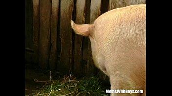 Brunette Lady Farmer Hairy Pussy Barn Fucked 37 min