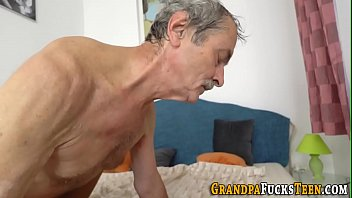Slut creampied by oldy