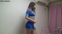 Japanese Glamour Girl Switch from Lingerie to Race Queen