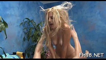 Massage sex movie scene