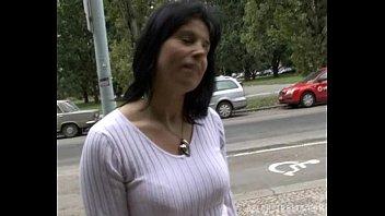 Brunette Milf Lenka Gets Paid for Sex