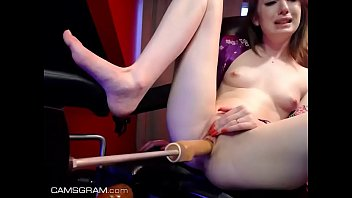 www.girls4cock.com *** Very Little young Girl on fuckmachine