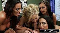 Lucky Boss Office Orgy - Jenna Presley, Jessica Jaymes, Julia Ann, Kirsten Price