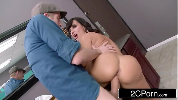 Club Cougar Lisa Ann Steals The Cock in the Women's Room