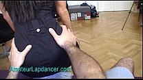 Amateur lapdancer Radka does hot strip