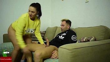 Intercambio entre amigos. Follada de Erick a Pamela. Homemade voyeur GUI014