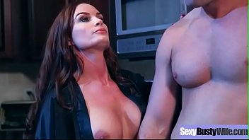 (Diamond Foxxx) Superb Wife With Big Juggs Love Hard Style Intercorse Clip-08
