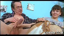 Young hole rammed by old dick