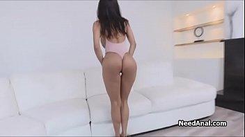 Ass fucking busty oily Latina bombshell