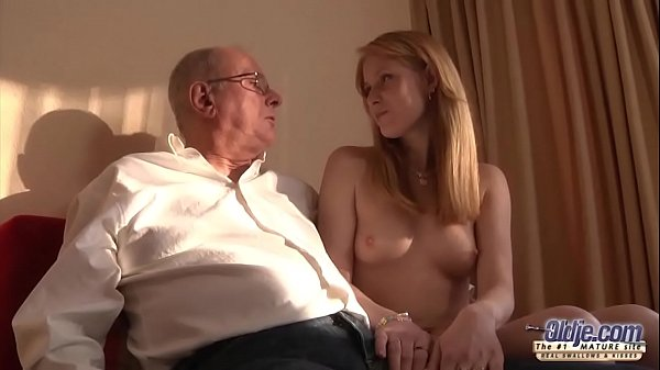 Old Young Porn Grandpa likes to fuck y. and lick pussies