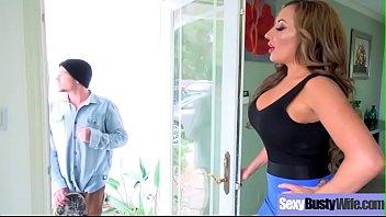 Slut Wife (Richelle Ryan) With Big Melon Boobs Hard Banged video-24