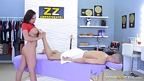 Brazzers - (Anastasia Hart) gives a dirty lil massage