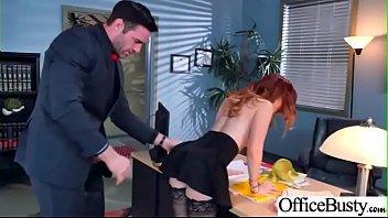 Sex On Cam With Big Melon Tits Office Girl (Dani Jensen) video-09