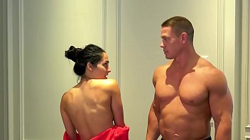 NUDE DANCE OF WWF John Cena with wife Nikki Bella OMG