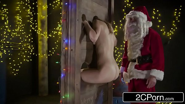Submissive Teen Jillian Janson Taking A Dick In The Ass From Santa Clause