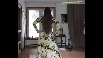 Ass shaking dance
