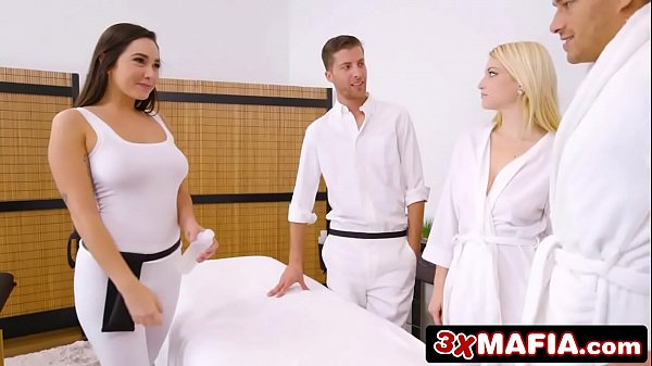 Super Hot Masseuse Karlee Grey Fucking Lucky Dude While His Wife Is s.