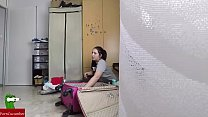 ella pone una camara espia y provoca a su follamigo para despues poder verse teniendo sexo GUI089
