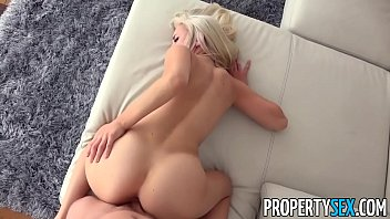 PropertySex - Sexy blonde real estate agent mixes business with pleasure