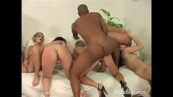 Young unleashed sluts for a reverse gang bang Vol. 3