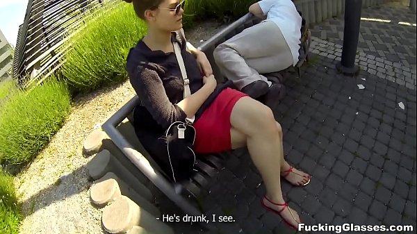 Fucking Glasses - Outdoor fuck Lota in spycam glasses