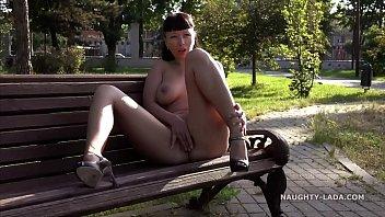 Enjoying the summer park