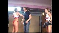 women skimpy boxing wrestling