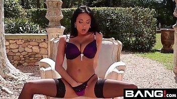 French Brunette MILF Anissa Kate Compilation