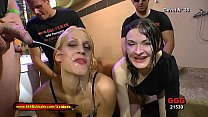 Sexy Slut Cony Clay and nerdy Manu in Extreme Watersports