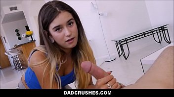 Teen Step Daughter Handjob And Blowjob Cum In Mouth For Dad