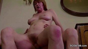 Hairy m. Seduce to Get Her First Anal Fuck and Facial