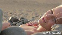 Nude Art C Cup Teen Marry Queen On The Beach 5 min