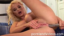hot sexy slut Helena masturbating pussy and ass