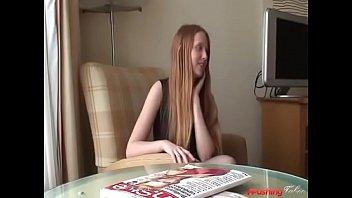 Redhead t- girl
