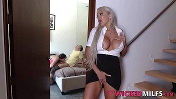 Lexi Lovell Shares Her Boyfriend's Cock With Horny Mom Nina Elle