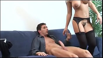 Busty Melissa Conti and her hairy pussy 22 min