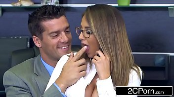 New Employee Layla London Wants Some Office Cock