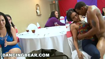 Wild CFNM Bachelorette Party with the Big Dick Dancing Bear! (db10551)