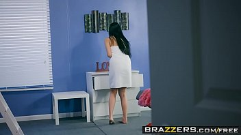Brazzers - Big Tits at School -  Bunk, Bed and Bang scene starring Brenna Sparks and Danny D-