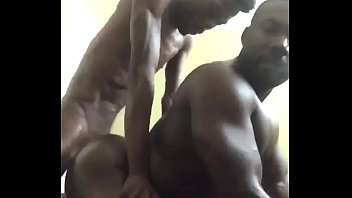 Horny Gay Bottom takes Big Skinny Black Dick Doggystyle. Smoking Fucking