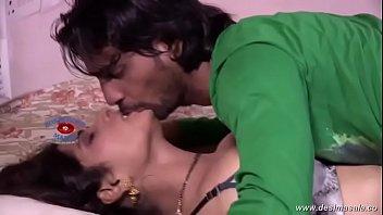 desimasala.co - Tharki devar smooching romance with young bhabhi