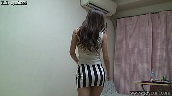 Peeping Naked Japanese Girl Madoka at Her Room