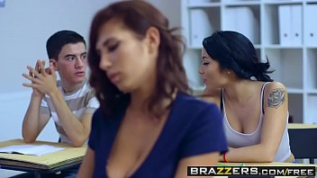 Brazzers - Big Tits at School - Big Tits In History Part 2 scene starring Ayda Swinger and Jordi El
