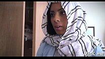 Arab slit endures hot fucking