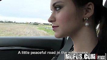 Mofos - Stranded Teens - Lea Guerlin - Horny French Amateur Car Sex